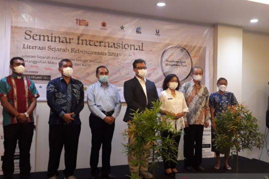 Riset sejarah dan mitigasi bencana dipaparkan ahli Indonesia