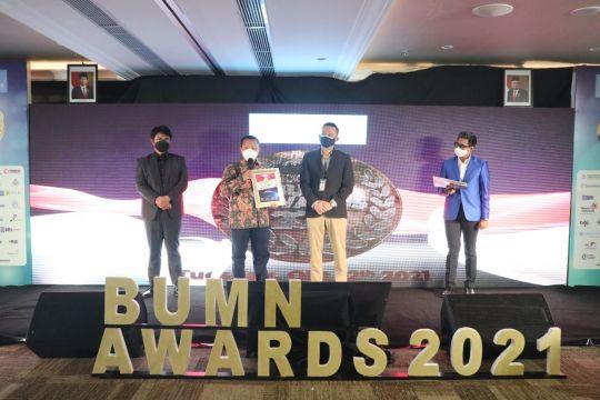 "Askrindo sabet predikat ""The Best Brand Image"" BUMN Awards 2021"