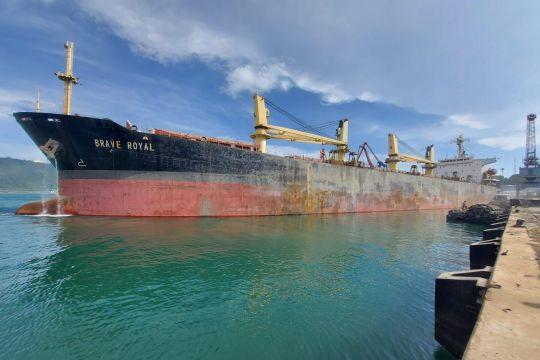 Realisasi ekspor PT Semen Padang hingga September capai 484 persen