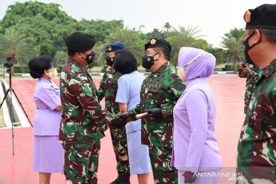 Sebanyak 60 perwira tinggi TNI naik pangkat