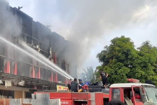 Kebakaran di Abepura, tiga korban meninggal