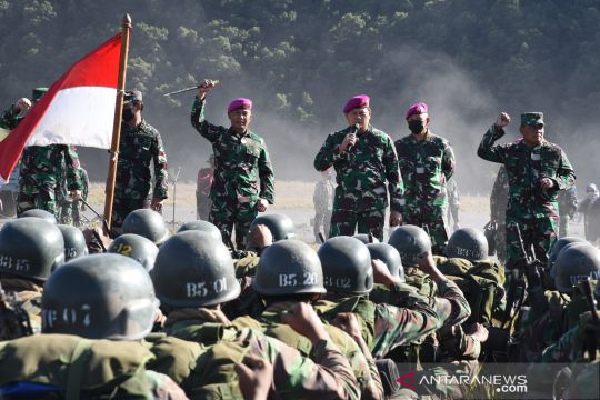 Kasal berikan motivasi kepada calon prajurit Marinir