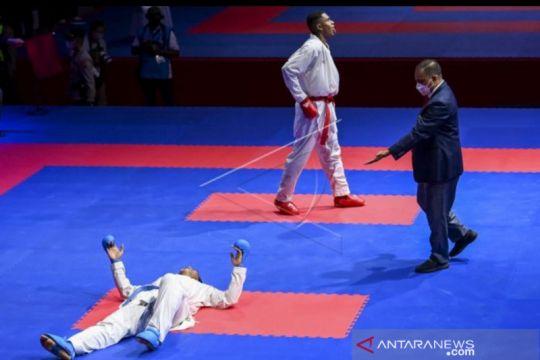Karateka petugas Lapas Makassar raih medali perak di PON Papua