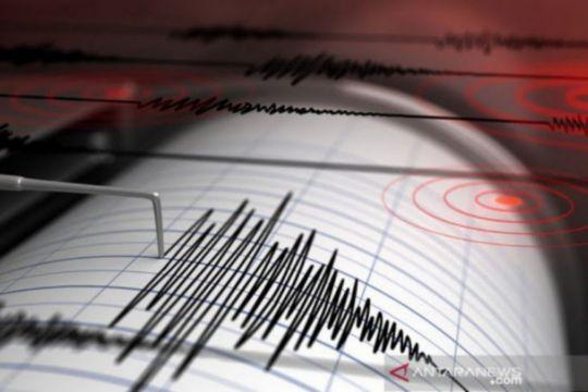 Getaran gempa di Pacitan terasa hingga Yogyakarta