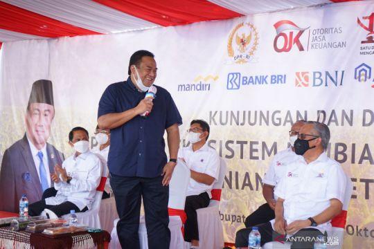 Rachmat Gobel harap kehadiran OJK bantu tingkatkan pertanian Gorontalo