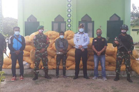 Satgas amankan pebisnis melintasi batas RI-Timor Leste secara ilegal