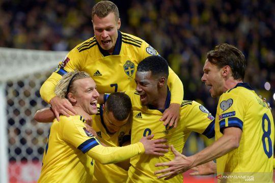 Kualifikasi Piala Dunia Zona Eropa:  Swedia kalahkan Yunani 2-0