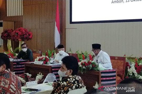 Wapres memimpin rakor pengentasan kemiskinan ekstrem di Maluku