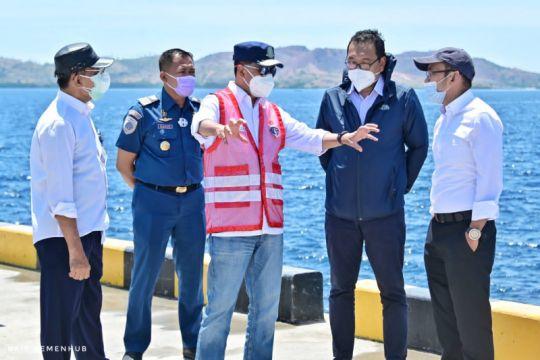 Sebelum diresmikan besok, Menhub cek pelabuhan logistik pertama NTT
