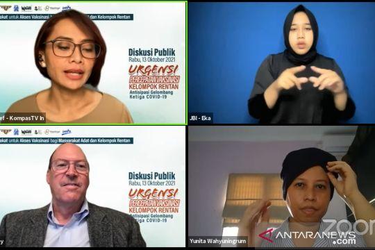 Survey John Hopkins: 40 persen lansia Indonesia tidak mau divaksin