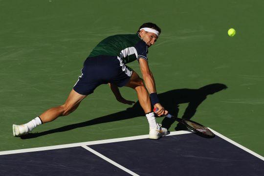 Dimitrov kalahkan Medvedev di Indian Wells