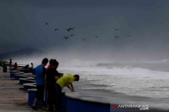 Badai Pamela terjang pesisir Meksiko