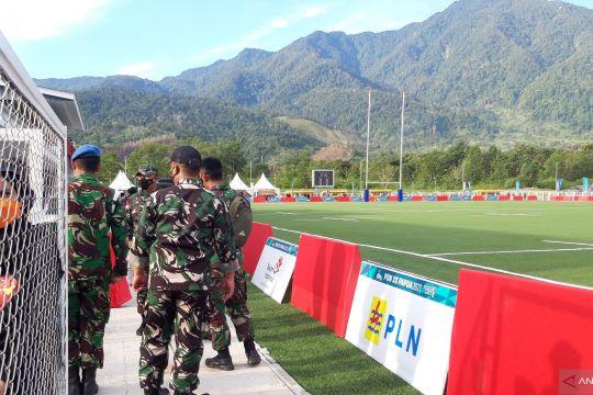 Pengamanan final rugby antara Papua melawan Jakarta diperketat