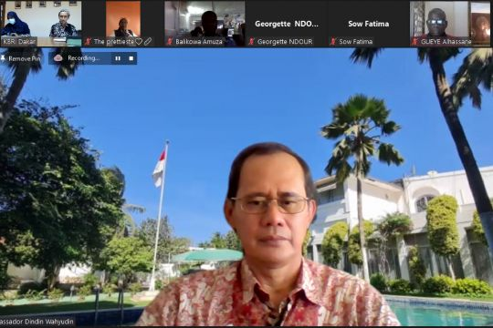 Masyarakat Afrika Barat antusias ikuti kelas bahasa Indonesia