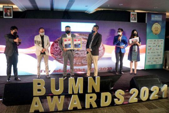 50 BUMN dianugerahi penghargaan di ajang Indonesia BUMN Awards 2021
