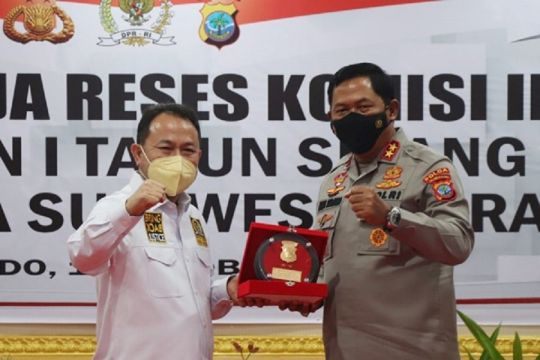 Komisi III DPR apresiasi penanganan COVID-19 di Sulut