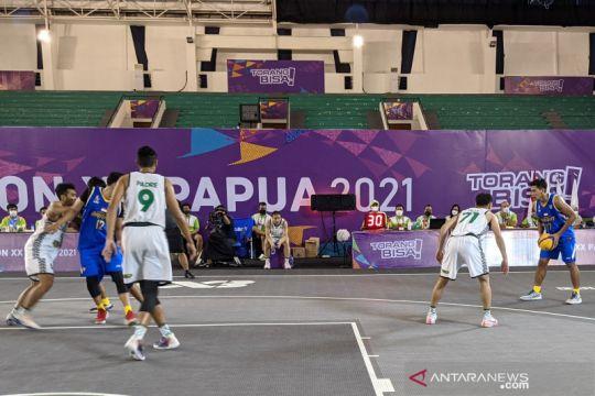 Tim putra Jawa Barat lolos ke final basket 3x3