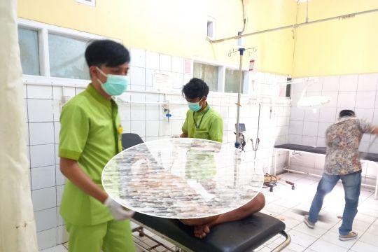 Orang tak dikenal serang warga dengan golok di Palabuhanratu Sukabumi