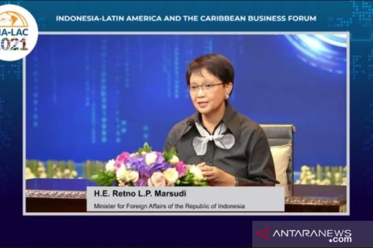 Menlu Retno: Perdagangan Indonesia-Amerika Latin bergerak positif