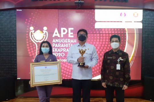 Gianyar dapat penghargaan APE dari Kementerian PPPA