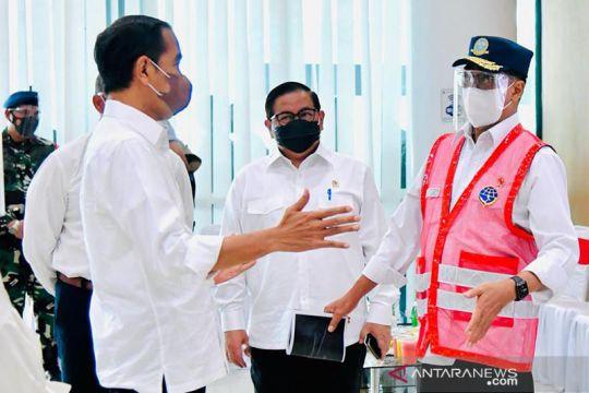 Presiden Jokowi : Penggabungan Pelindo akan tingkatkan daya saing