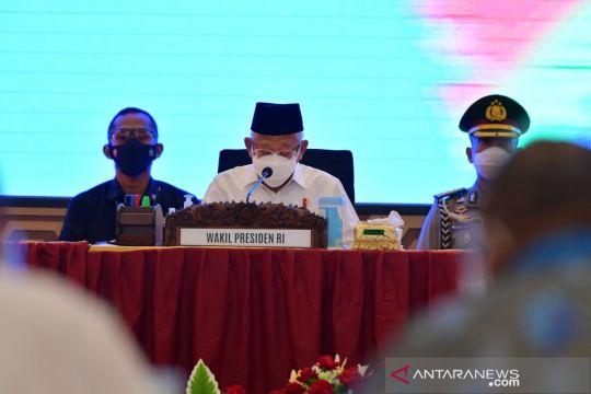 Wapres sebut penyelesaian dua RPP Otsus Papua hampir final