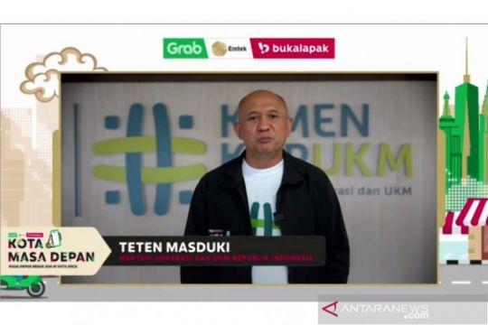Menkop UKM apresiasi program #KotaMasaDepan percepat digitalisasi UMKM