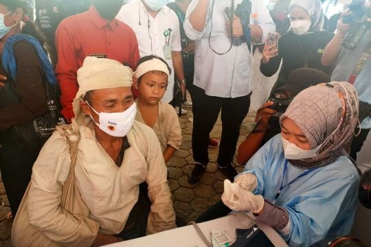 Kemendikbudristek dukung vaksinasi bagi masyarakat adat