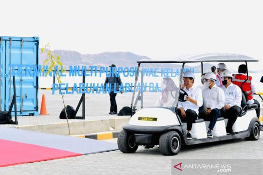 Presiden Jokowi tak sangka Pelabuhan Wae Kelambu NTT sangat besar
