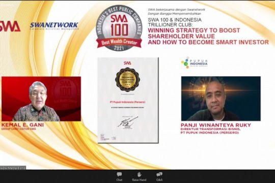 "Sentralisasi ""holding"" Pupuk Indonesia raih penghargaan Best Company"