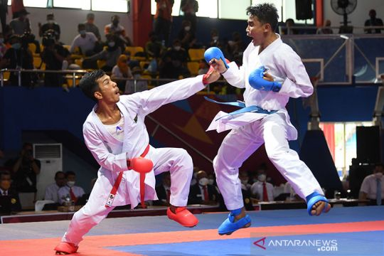 Karate kembali sumbang medali perak bagi Sumbar