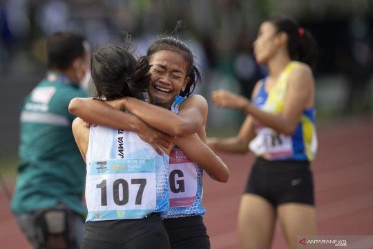 PON Papua: Jateng juara lari 4X400 meter estafer putri