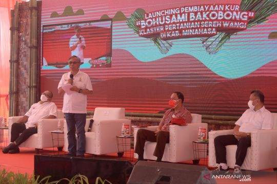 Peluncuran Program KUR OJK di Sulut