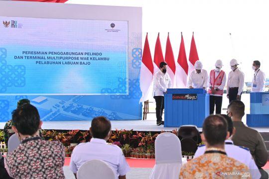 Presiden resmikan penggabungan Pelindo