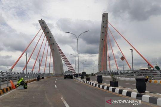 Presiden Jokowi resmikan Jembatan Alalak Batola 21 Oktober