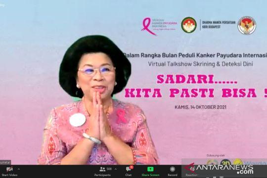 YKPI: Setiap 30 detik ditemukan kasus baru kanker payudara di dunia