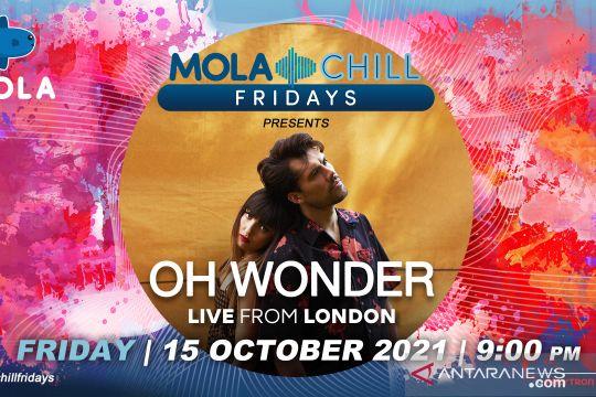 Besok, Oh Wonder akan tampil di Mola Chill Fridays