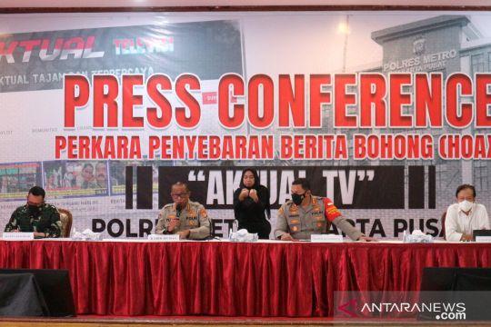 Polisi tangkap direktur BSTV terkait penyebaran hoaks