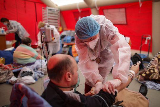 Uni Eropa kirim obat dan alat kesehatan COVID-19 ke Romania