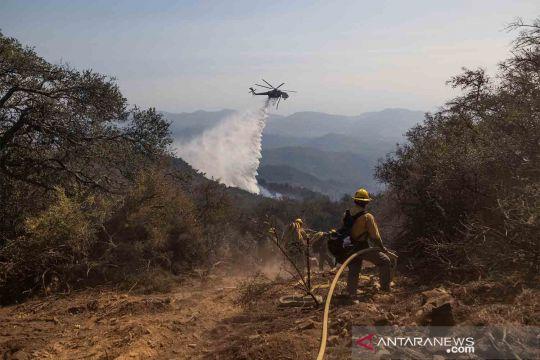 Kebakaran hutan di Santa Barbara