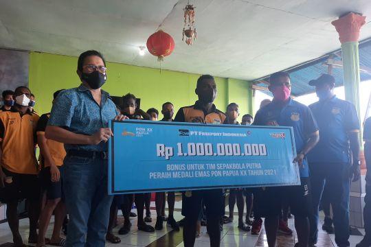 Freeport guyur bonus Rp1 miliar untuk tim sepak bola Papua