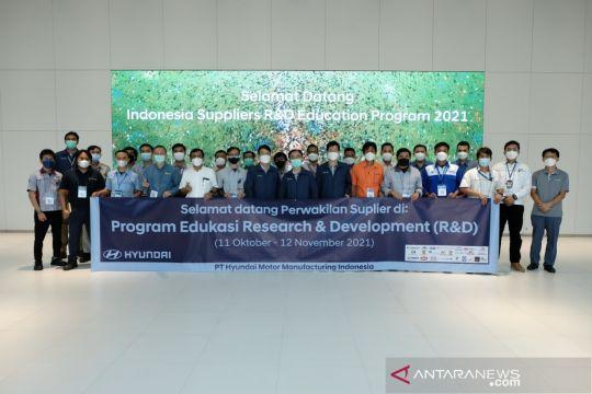 Hyundai Indonesia perkuat kualitas SDM pemasok komponen