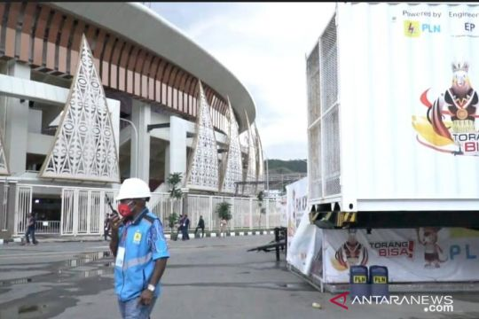 PLN jamin keandalan listrik saat penutupan PON Papua