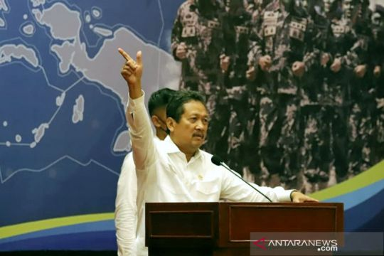 Menteri Trenggono: Perkuat pengawasan untuk kelestarian ekosistem laut