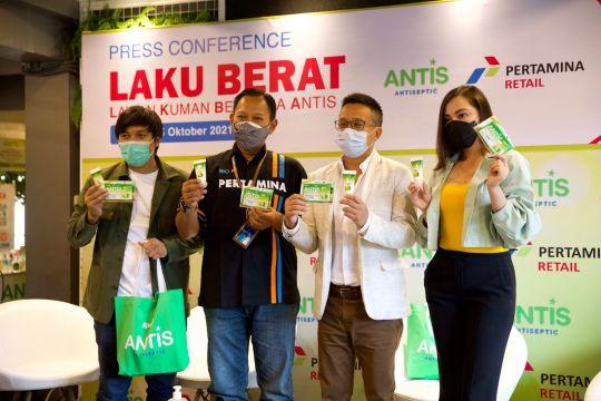 Antis dan Pertamina Retail edukasi pengguna SPBU untuk jaga kesehatan