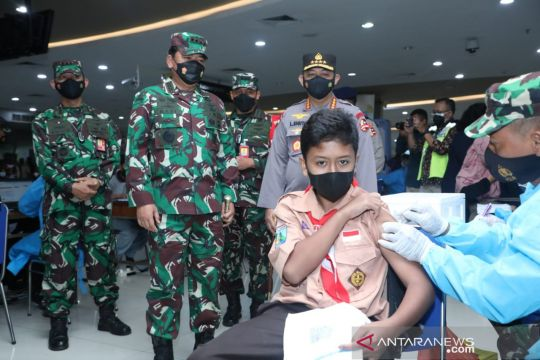 Panglima TNI: Vaksinasi terbukti lindungi masyarakat dari COVID-19