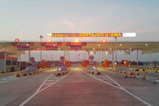 Pembangunan akses tol Bandara Kertajati sudah 100 persen