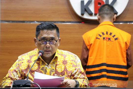 KPK umumkan adik mantan Bupati Lampung Utara tersangka gratifikasi