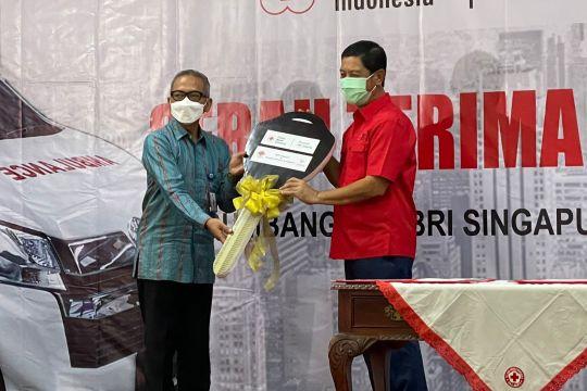 Diaspora Indonesia di Singapura berikan ambulans untuk PMI Jakarta