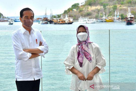 Presiden Jokowi resmikan penataan sejumlah kawasan di Labuan Bajo